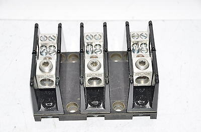 Edison distribution block, open type, 175A max HPB104-3