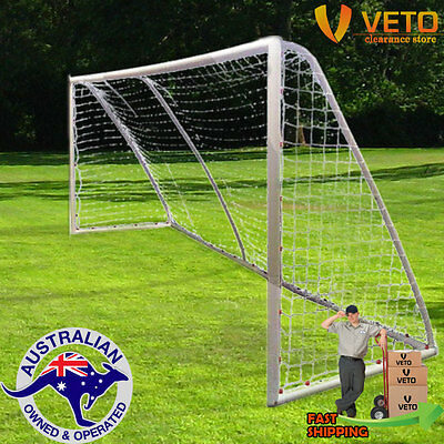uPVC Soccer Goal 5m x 2m complete with net!