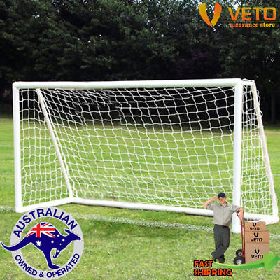 uPVC Soccer Goal 2m x 1m complete with net!