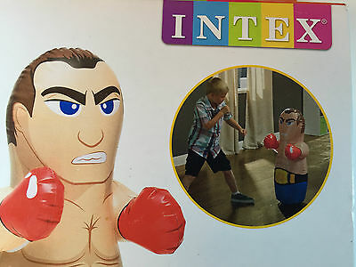 Intex Brand New High Quality In/outdoor Inflatable Bop Bag - Wrestling Champion