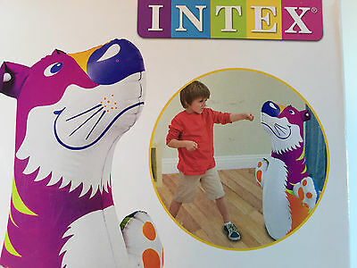 Intex Brand New High Quality Outdoor Indoor Inflatable Bop Bag - Tiger
