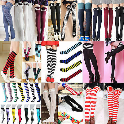 NT Women Lady Winter Over Knee Thigh Stockings High Long Socks Pantyhose Tights