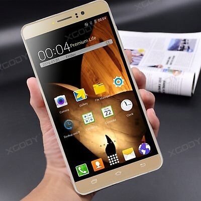 """6"""" XGODY Factory Unlocked 4Core+2SIM 8GB Android 5.1 Smartphone 3G Mobile Phone"""