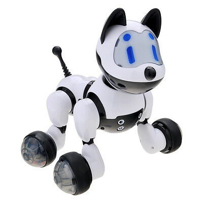 Kids Intelligent Electronic Voice Activated Robot Puppy Kitty Pet Dog Cat Toys