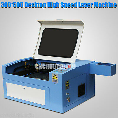 50W Desktop High Speed MINI Laser Engraver Laser Cutting machine 300x500(mm)