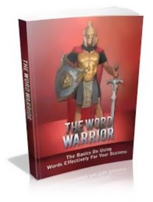 The Word Warrior Free Shipping ebook Full Resell Rights PDF
