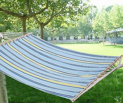 XXL Size Outdoor Garden Hammock Swinging Hanging Camping Beach Travel Bed Lounge