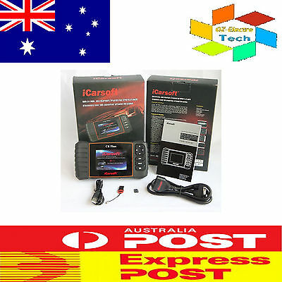 Fault Code Read iCarsoft CRPLUS OBD2 Multi-system Reset Diagnostic Car Scan Tool