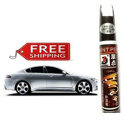 Fix Pro Car Auto Smart Coat Paint Scratch Repair Remover Touch Up Pen (silver)