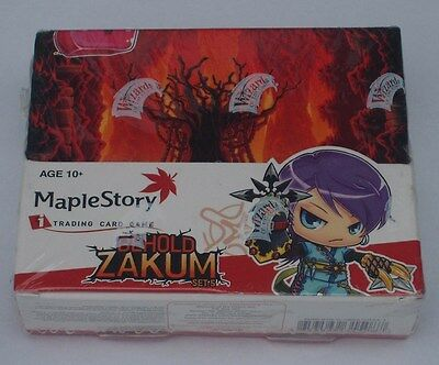 Maple Story Tcg Behold Zakum 24 Pack Booster Box New & Sealed