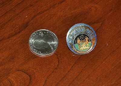 New Orleans Police NOPD Badge Patch Pin mini Big Easy Emblem