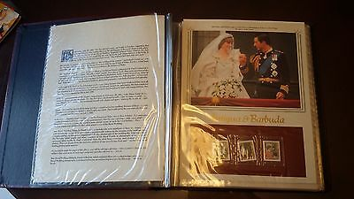 The Royal Wedding Philatelic Panels Collection Princess Diana Prince Charles