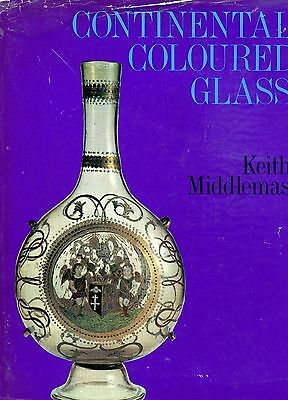 History of European Continental Glass - Types Makers Periods / Illustrated Book