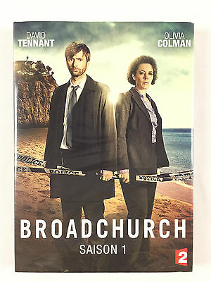 Coffret 3 DVD Broadchurch / L'INTEGRALE De La Saison 1 Neuf