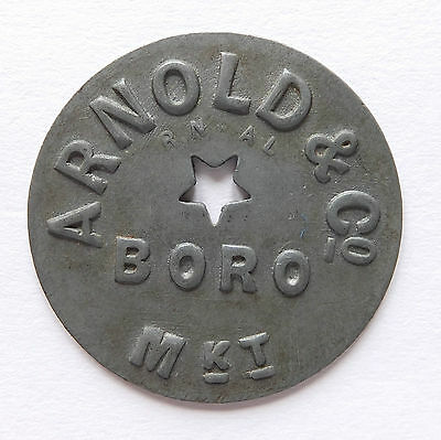 Arnold And Co. Boro Market Token (3924)