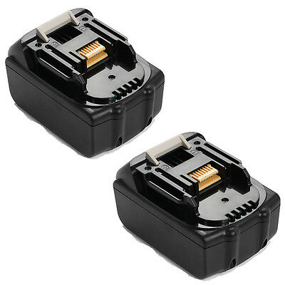 2x For Makita 4.0AH 18V BL1840 BL1830 BL1815 LXT Lithium Ion Battery Heavy Duty