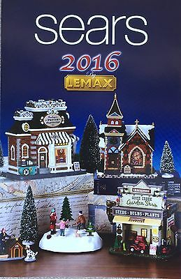 2014 Lemax Village Christmas Collection! Coventry Cove Catalog ...