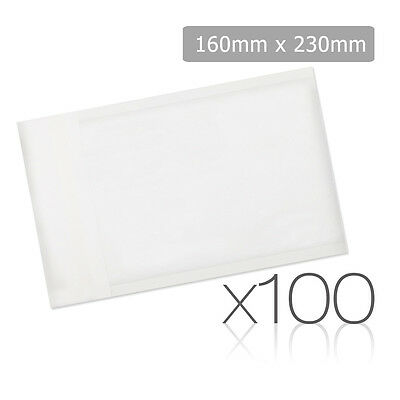 Set of 100 Bubble Padded Mailer Bag - 160mm x 230mm