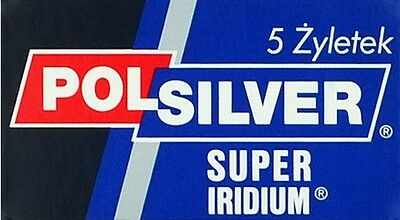 100 200 10 15 20 50 Polsilver super iridium Double Edge Safety DE Razor Blades
