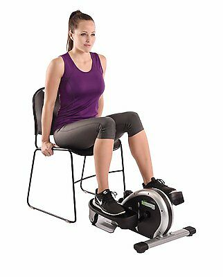 Stamina In Motion Elliptical Trainer Exercise Equipment For Desk Exercises  Black