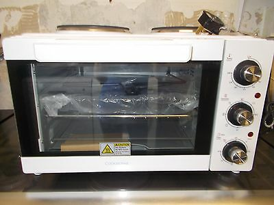 COOKWORKS MINI OVEN, HOB, GRILL AND ROTISSERIE Brand New Just no Box