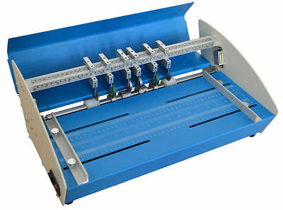 Electric Crease Score Dot Perforate Machine Paper Card 460mm