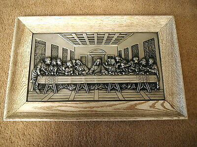 Last Supper Metal Picture Juses Christian