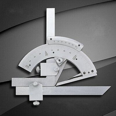 0-320 Degree Precision Angle Measuring Finder Universal Bevel Protractor Tool