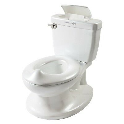 Summer Infant My Size Potty Toddler Kid Training Toilet White Seat - 100% New!!!