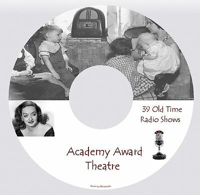 Academy Award Theatre - 39 Old Time Radio Shows - MP3 DVD
