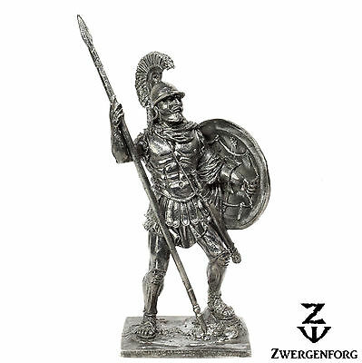 "Tin Toy SOLDIER 54mm GREEK Hoplite WARRIOR Ancient GREECE 1/32"" Metal Tin Figure"
