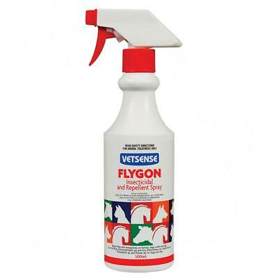 Vetsense Flygon Horse, Dog Cattle Pet Insect & Fly Repellent Spray 500 ml