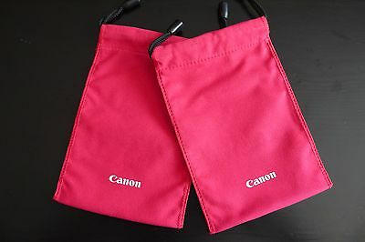 Two(2) Camera Accessories Pouch /Battery Sim card Filter Storage Bags for Canon