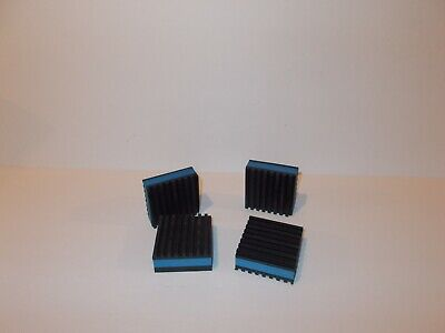 "Anti Vibration Pad/Leveler/Rubber ISO Cube (4) -2 x 2 x 7/8""-New-AC/Furnace/Ect."