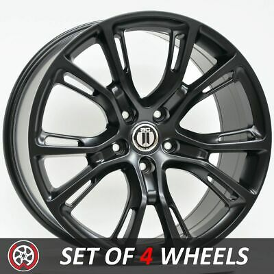 20 Inch Wheels Rims to fit Jeep Grand Cherokee and SRT Models Satin Black