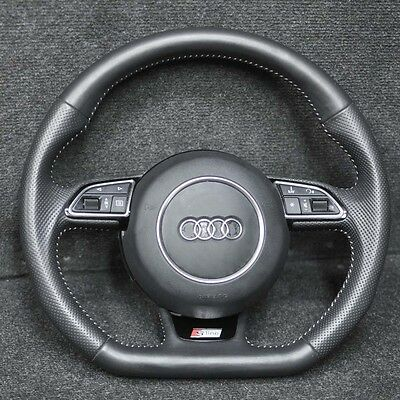 AUDI A3 S-Line Multifunction Steering Wheel With Airbag MK3 8V CABRIO 2014
