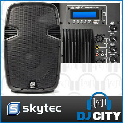 Skytec SPJ-1200ABT 12? PA Powered Speaker 600W with Bluetooth & USB MP3 Player