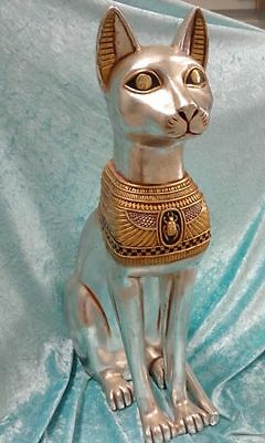 Egyptian Cat Goddess Bastet Statue (3 available)