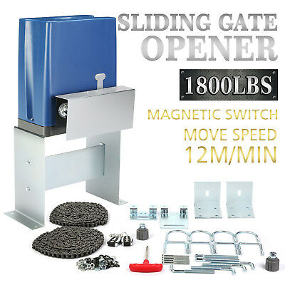 Sliding Electric Gate Opener 800KG Automatic Motor Remote Kit  Chain  best one