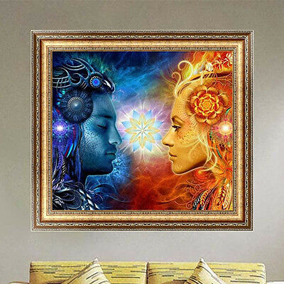 DIY 5D Diamond Embroidery Character Painting Cross Stitch Home Decor