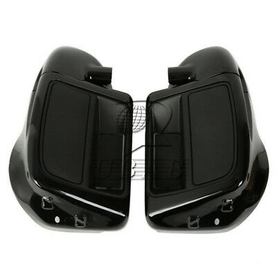 Black Lower Vented Leg Fairing For Harley Touring Road King Electra Glide 14-16