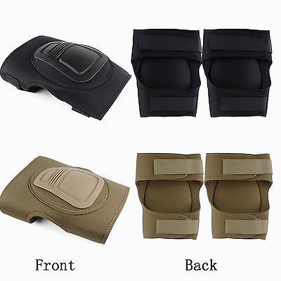 Outdoor SportsTactical Military CS Games Combat and Knee Protective Pad Guard #