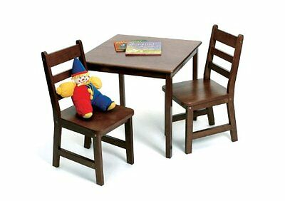 Lipper International 514WN Child's Square Table and 2-Chair