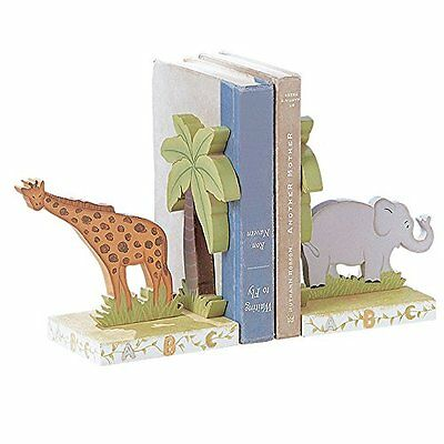 Fantasy Fields - Alphabet Thematic Set of 2 Wooden Bookends