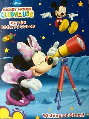 Disney Mickey Mouse Clubhouse Coloring Book ~ Wishing on Sta