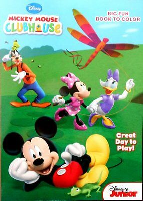 Mickey Mouse Clubhouse Great Day To Play Coloring and Activi