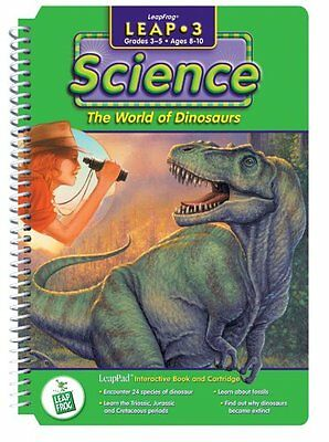 """LeapPad: Leap 3 Science - """"The World of Dinosaurs"""" Interacti"""
