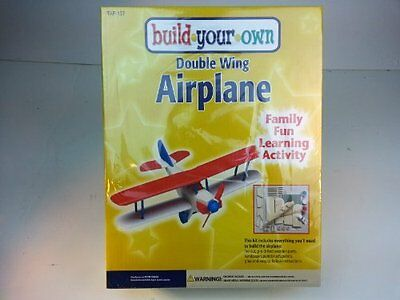 Double Wing Airplane Craft Kit
