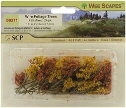 Wee Scapes Architectural Model Foliage Tree (Set of 24)