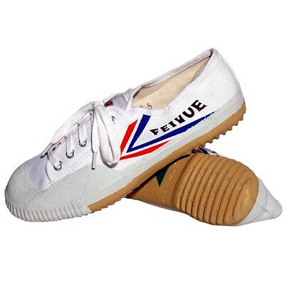 Tiger Claw Feiyue Martial Arts Shoes - White - Size 43